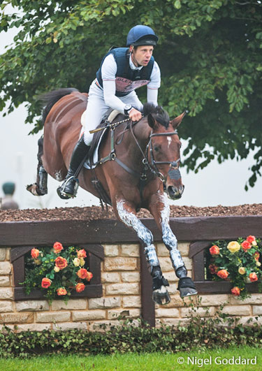 Australia's Chris Burton and Nobilis 18 finished third in the CCI3* at Blenheim.