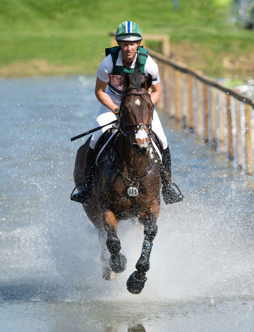 Clark Montgomery and Loughan Glen retained their lead after the influential cross-country phase in the CCI3* class at Blenheim.
