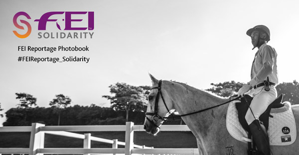 The FEI Solidarity Reportage photobook celebrates the hard work and commitment of everyone involved in grassroots equestrian sport development.