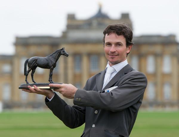 Last year's CCI3* winner Francis Whittington.