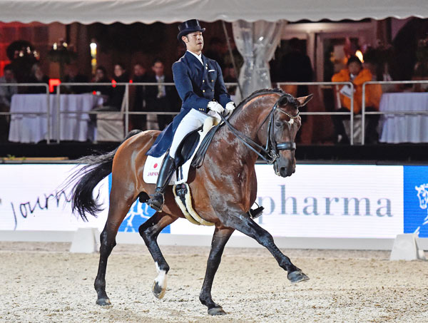A sixth-place finish for Masanao Takahashi and Fabriano clinched a qualifying spot at the Rio 2016 Olympic Games for the Friday's special Olympic Dressage qualifying competition in Perl, Germany.