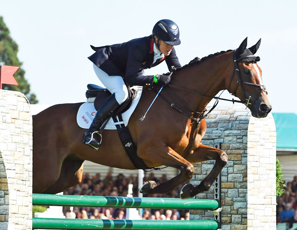 Tina Cook was the best placed British rider - and the only Brit in the top 10 - coming in eighth on Star Witness.
