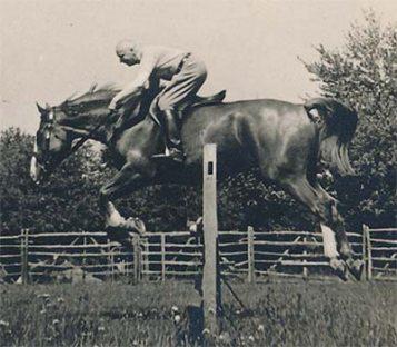 Vladimir Littauer demonstrates his craft in this undated photo. Photo: Sweet Briar College