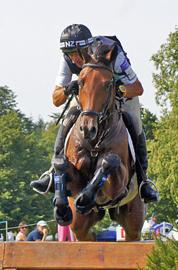 Mark Todd, pictured on Leonidas II at Blenheim in 2012. © Mike Bain