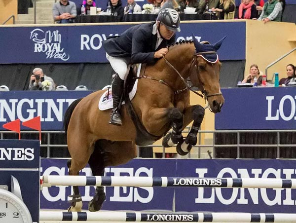 Chile's Samuel Parot and Atlantis have won the Longines FEI World Cup Jumping qualifier in Calgary, and are now setting their sights on the last two East Coast qualifiers in Wellington and Ocala.