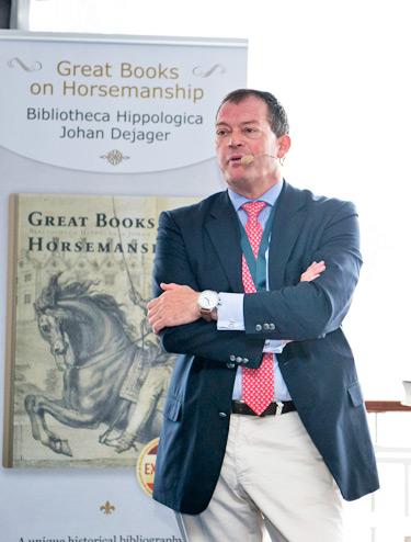 Belgian book collector Johan Dejager.