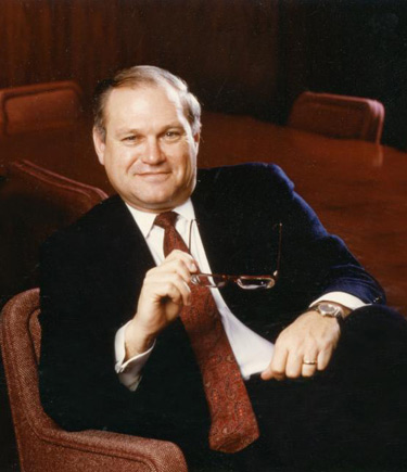 Doug Leatherdale during his career with The St Paul Companies Inc.
