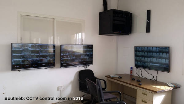 The Bouthieb TV control room.