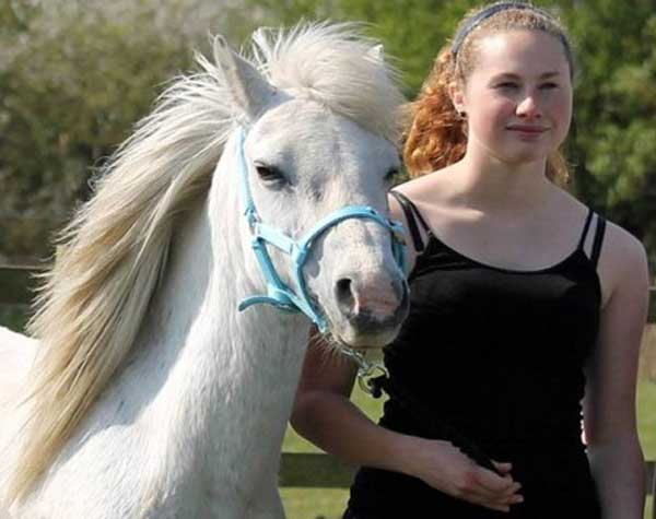 Laura Davies was devoted to the care of horses. Photo: Essex Police