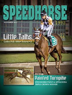 The November issue of Speedhorse magazine.