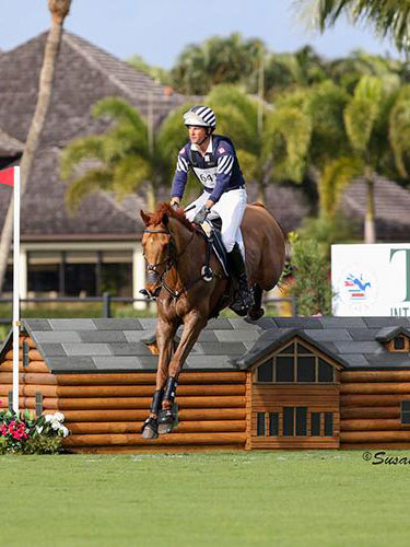 Boyd Martin and Blackfoot Mystery, winners of the Wellington Eventing Showcase.