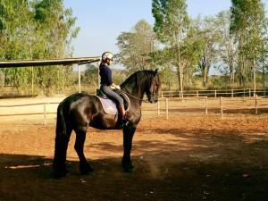 Horse riding lesson in Khaoyai