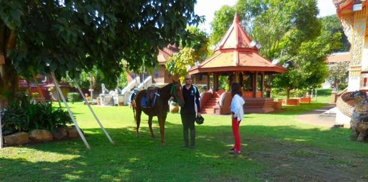 Horse riding Thailand Lanna Heritage