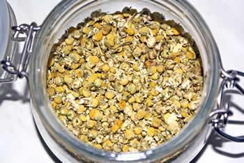 chamomille-jar