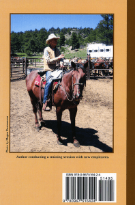 Humor Around Horses back cover