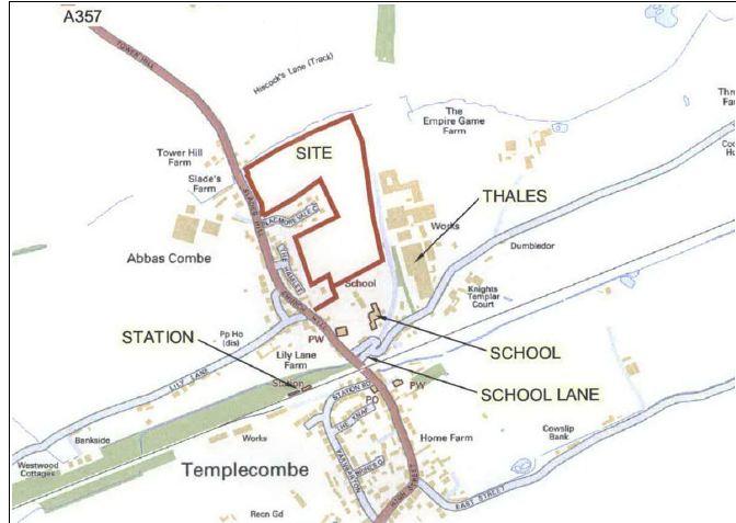 Slades Hill development