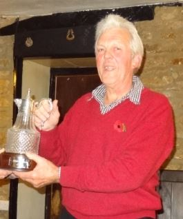 The Winner! Chris Dibben of Wincanton Seniors