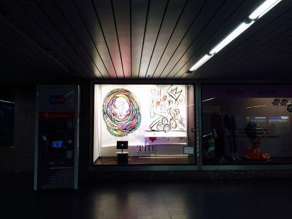"Crush Installation January 2016 Collaboration with TMNK ""Nobody"""