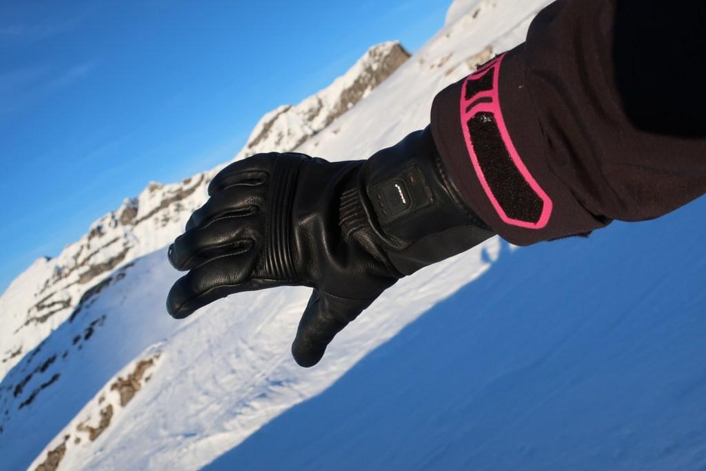 racer iwarm ski cheval