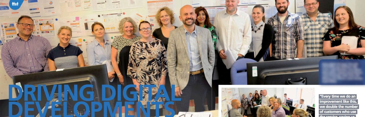 EDF Energy Digital team featured in Connect magazine