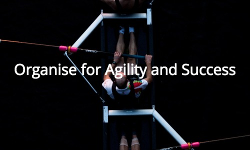 Organise your company for Innovation, Agility and Success
