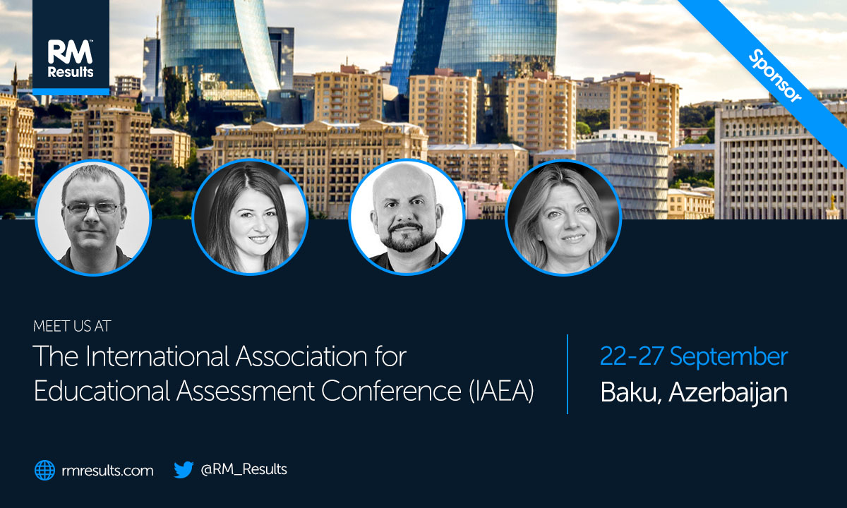 Join me to discuss examiner behaviour data at the IAEA Conference in Baku