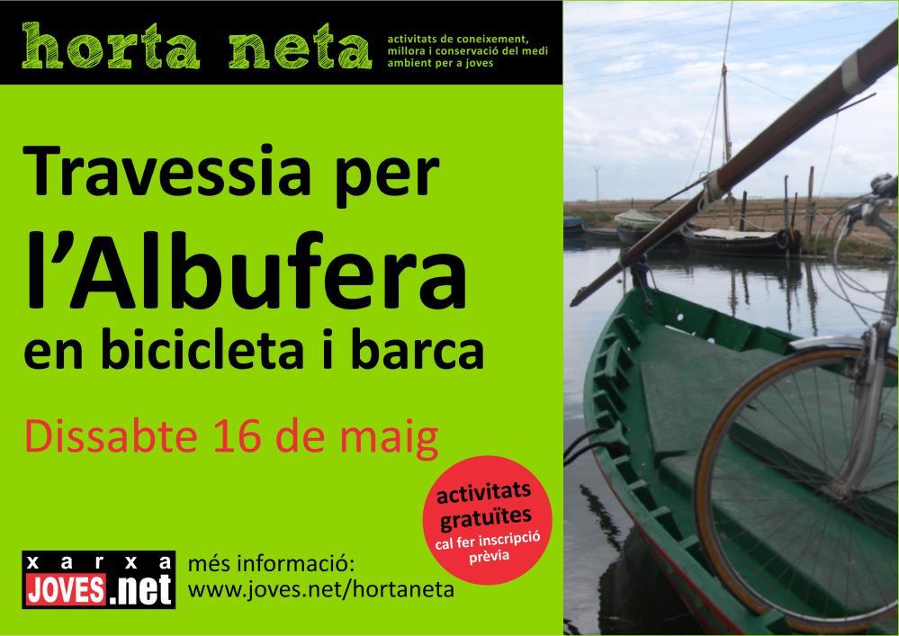 Travessia per l'Albufera en bicicleta i barca (2/2)