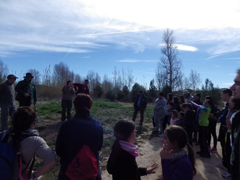 Crònica: Plantàrem més de 100 arbres junt al riu Túria... (1/6)