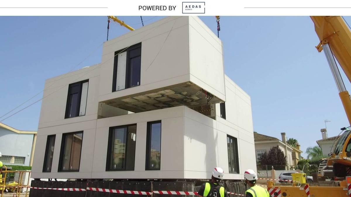 Industrializadas en tiempo récord: cómo construirán tu casa más rápido