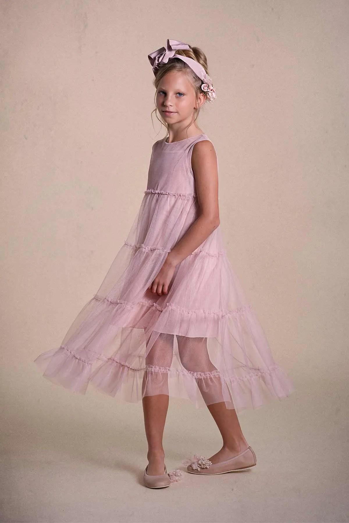 Vestidos de niña Hortensia Maeso