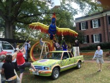 Phoenix Rising being lifted to ring