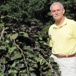 Dr. Dennis Werner with Ruby Falsec