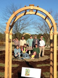 Ken's Garden workers at CEFS Small Farm Unit in Goldsboro