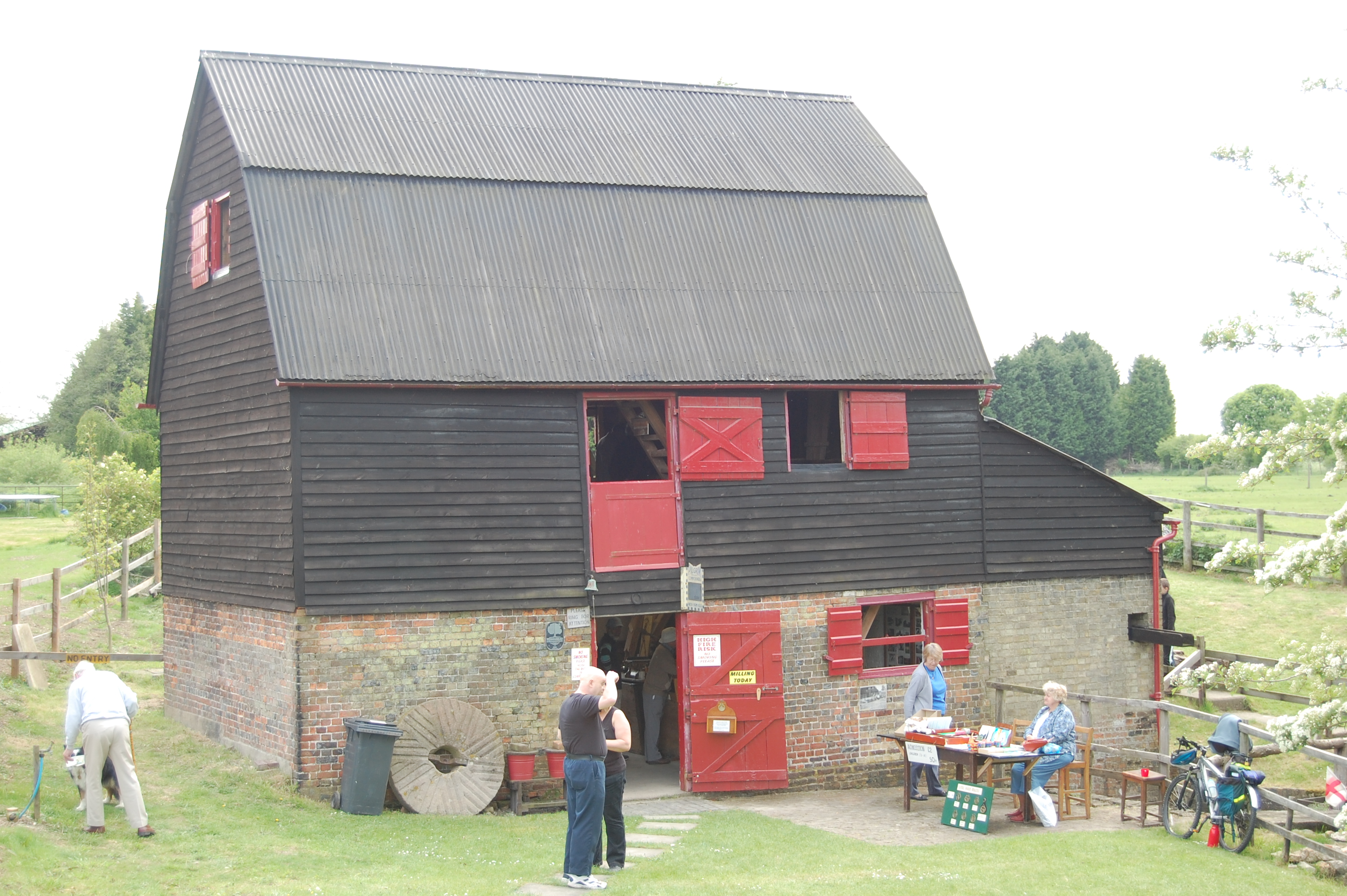 The Ford End Watermill