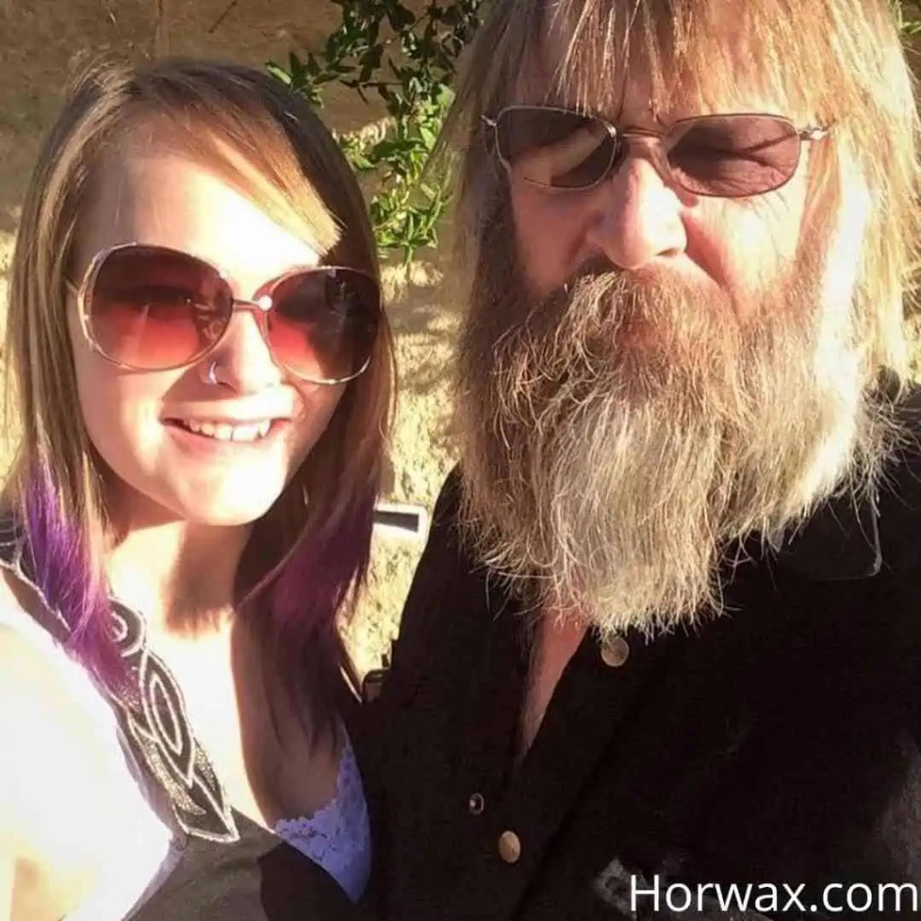 monica beets with he father tony beets