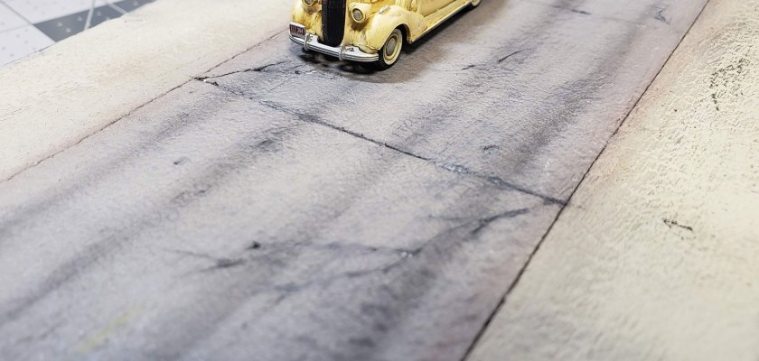How to Make EASY Concrete Roads On Foam - Model Railroading