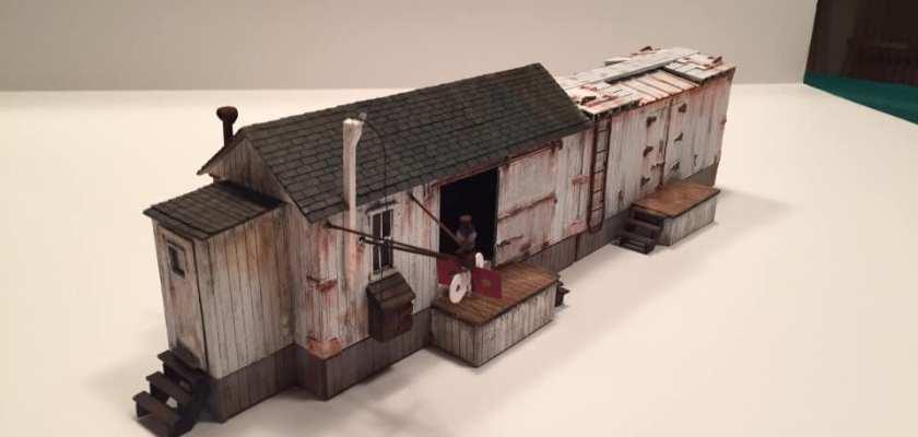 Bench Time #62: Foggy Mountain Models, Mark Schreier On3 kits