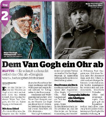 Ohr des Anstosses: Van Gogh