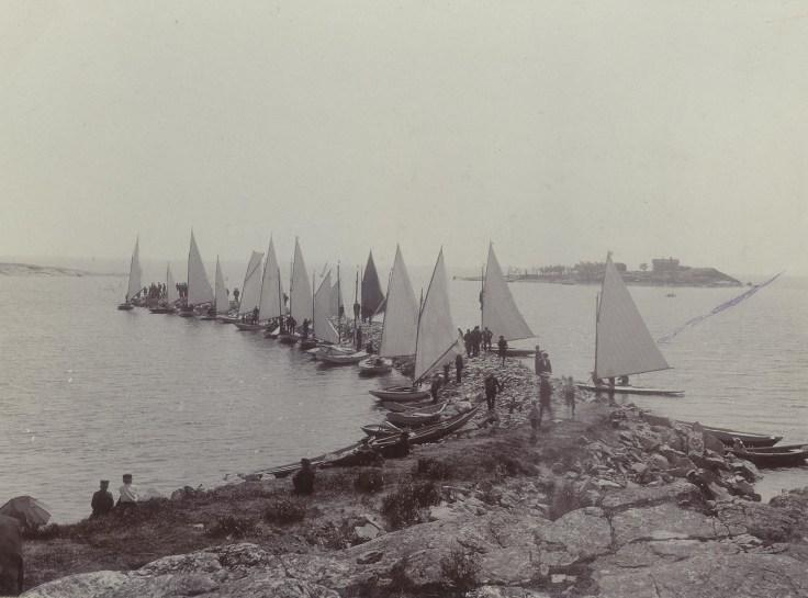 Sandholmen Startplats före 1905
