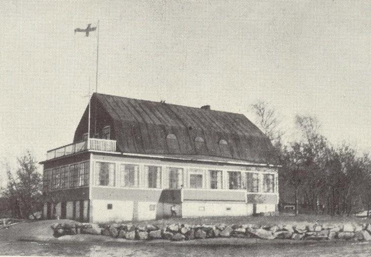 Stora Bässen Klubbhuset 1924-1959