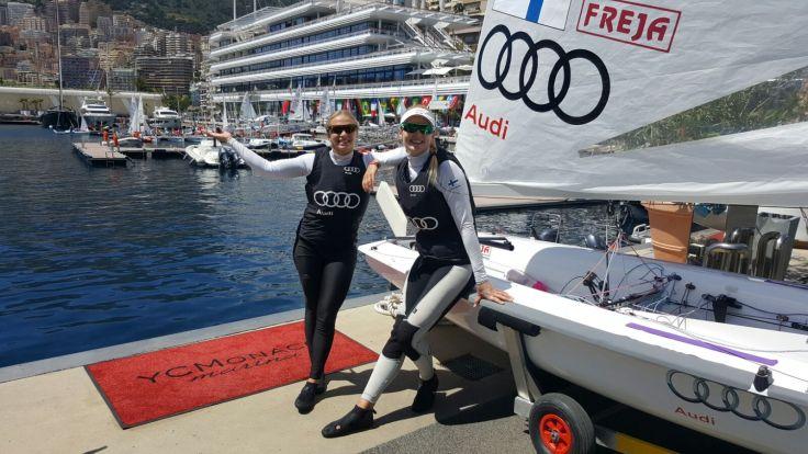 Miksu ja Noora Monacossa