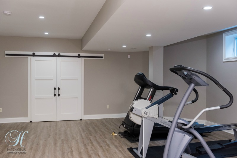 Project highlight home gym design in a downtown indianapolis