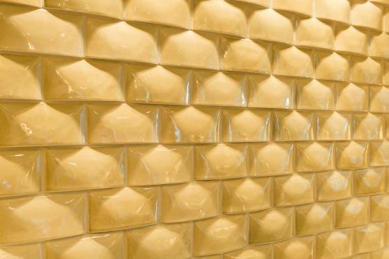 yellow wall tile