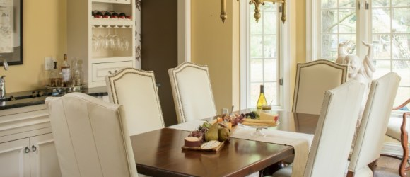 Project Highlight: A Multi-Functional Informal Dining Room |Hoskins ...