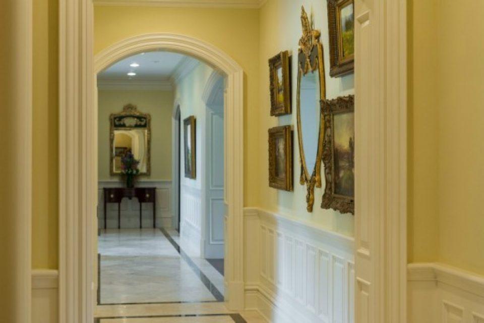 patterned marble floors