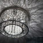 metallic light fixtures