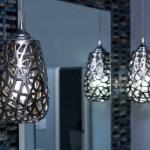 metallic pendants