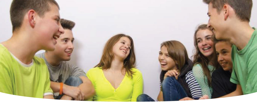 Teen Group Hero Image
