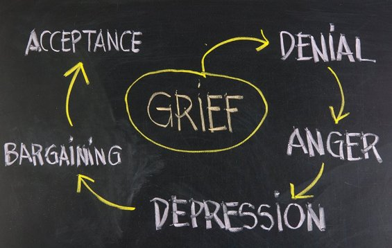 The Stages of Grief - Hospice of the North Coast