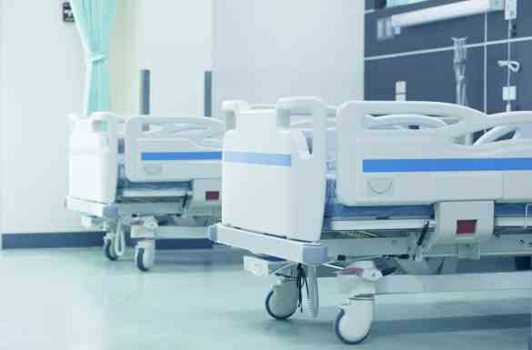 Two Hospital Beds